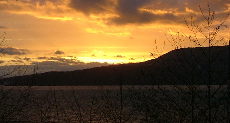 Lummi sunset